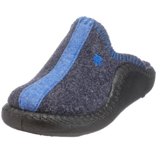 Romika Mokasso 62, Unisex-Kinder Pantoffeln, Blau (marine 503), 35 EU