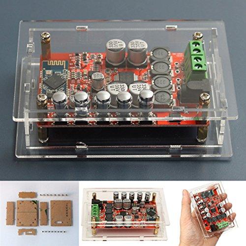 ELEGIANT TDA7492P Mini Bluetooth Verst�rker 2x50W Wireless Bluetooth CSR4.0 Hifi Audio Stereo Empf�nger Receiver Dual Kanal Verst�rkerbrett Digital Amplifier Amp Board Modul mit Schutz Acrl Box