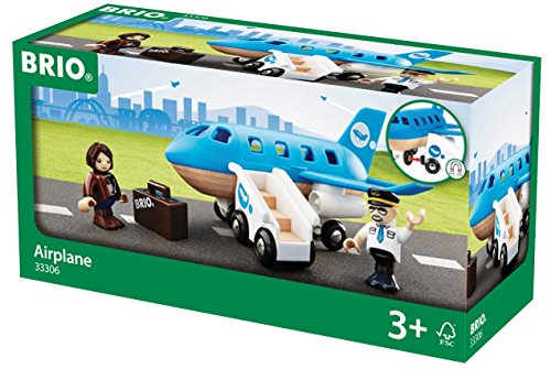 Brio 33306 - Blaues Flugzeug