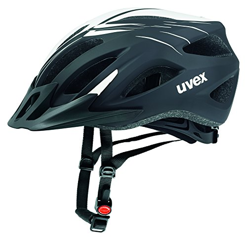 Uvex Fahrradhelm Viva 2, Scream Black-White Mat, 56-62, 4101041417