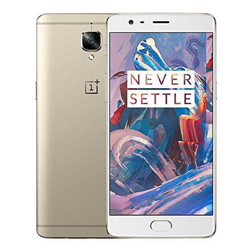 "Oneplus 3 6+64GB Dual SIM 4G LTE 5.5"" Smartphone Gold"