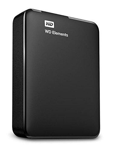 Western Digital 2TB Elements tragbare externe Festplatte - USB 3.0 - WDBU6Y0020BBK-EESN