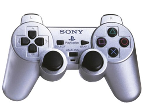 Playstation 2 - Controller Dual Shock silber