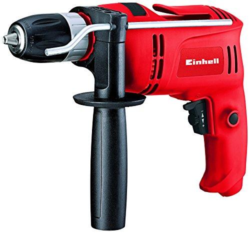 Einhell Schlagbohrmaschine TC-ID 650 E (650 W, Bohrleistung � Holz  25 mm, Beton 13mm, Metall 10 mm, Metall-Tiefenanschlag, G�rtelhaken)