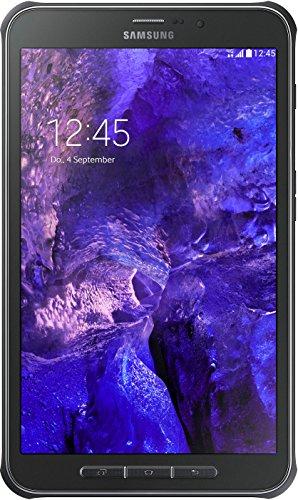 Samsung Galaxy Tab Active T365N 20,32 cm (8 Zoll) LTE Tablet-PC (1,2 GHz Quad-Core, 1,5GB RAM, 16GB interner Speicher, Android 4.4) titanium gr�n