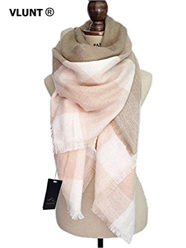 VLUNT� Damen Winter klassische Schal lange weich Wraps grosse Schal