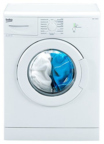 Beko WML 15106 NE Waschmaschine Frontlader / A+ / 168 kWh/Jahr / 1000 UpM / 5 kg / wei� / Programmablaufanzeige / Mini 30-Programm