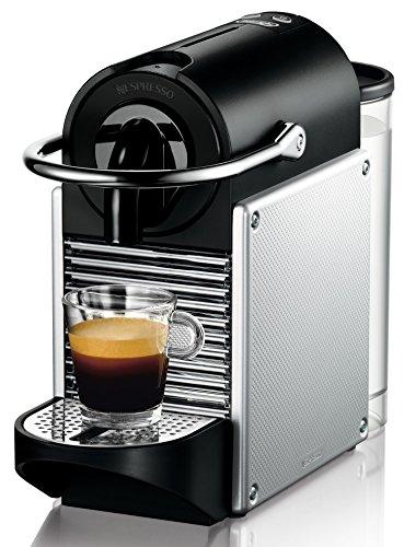 DeLonghi EN 125.S Nespressomaschine (1260 Watt, 0,7 Liter, Pixie Electric Aluminium) silber
