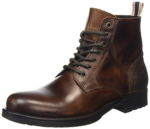 Jack & Jones Herren Sting Kurzschaft Stiefel, Brown (Friar Brown), 43 EU (9 UK)