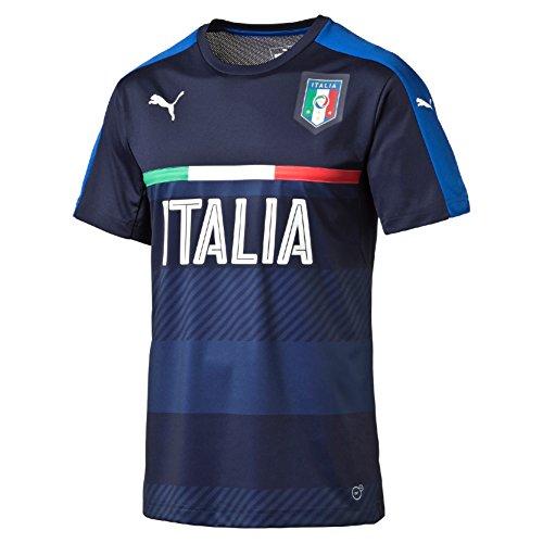PUMA Herren Trikot FIGC Italia Training Jersey, Peacoat/Team Power Blue, L, 748851 05