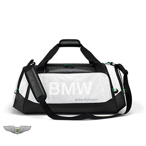BMW New Original Golfsport Golf Sporttasche (schwarz und wei�) 80222285764