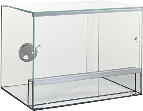Glas Terrarium mit Bel�ftung 30x25x25 cm 30 25