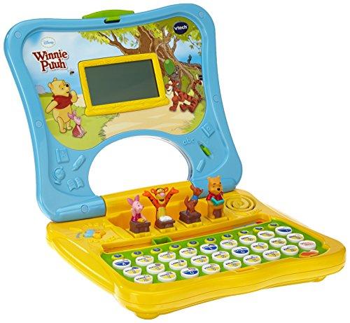 VTech 80-069104 - Lerncomputer Winnie Puuhs ABC-Laptop, farblich sortiert, Farbe nicht w�hlbar