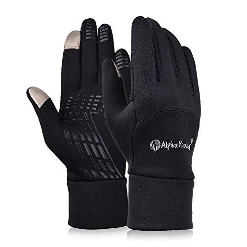 Vibiger Winter rutschfeste Radhandschuhe Wandern Sport-Handschuhe mit Touchscreen-Funktion
