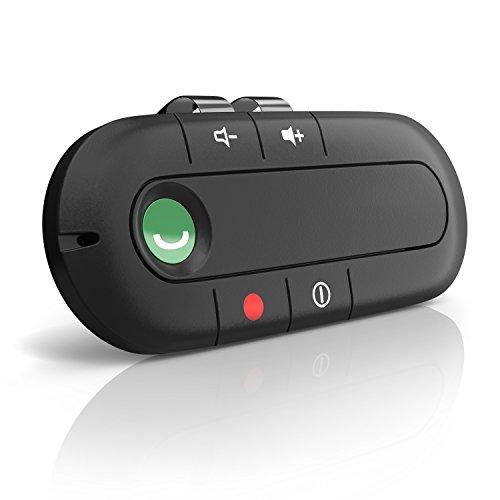 Aplic - Bluetooth Auto Freisprecheinrichtung | Wireless Bluetooth-Freisprechanlage | Handsfree Car-Kit | ca. 10 m Reichweite | ca. 6 Stunden Gespr�chszeit | integr. Akku + Lautsprecher | LED-Anzeige | Multipoint | Haltemagnet