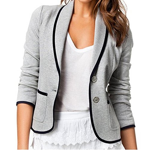 Damen fashion Blazer Jacke J�ckchen Mantel Anzug Strickjacke