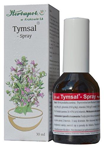 Tymsal - Thymian und Salbei Tinktur in Spray - effektives Mittel bei Halsschmerzen, Halsentz�ndung, Zahnfleischentz�ndung, f�r einen frischen Atem, 30ml, von herbagarten Shop