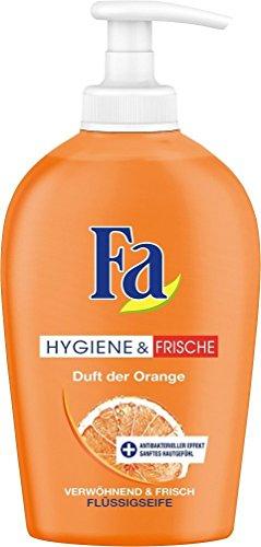 Fa Fl�ssigseife Hygiene & Frische, Duft der Orange, 2er Pack (2 x 250 ml)