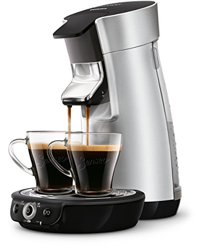 Senseo HD7831/10 Viva Caf� Kaffeepadmaschine (Kaffee Boost Technologie) silber