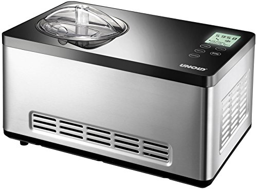 Unold 48845 Eismaschine Gusto 2 L mit digitalem Timer