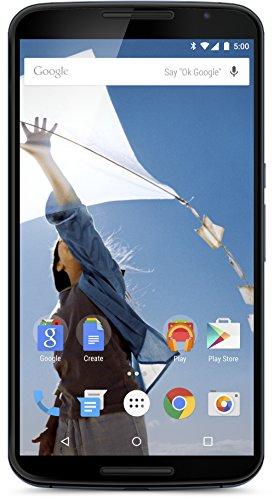 Motorola Nexus 6 Smartphone (6 Zoll (15,2 cm) Touch-Display, 64 GB Speicher, Android 5.0 Lollipop) blau