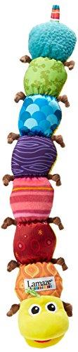 """Lamaze Babyspielzeug mit Musik """"Musik-Wurm"""" mehrfarbig - hochwertiges Kleinkindspielzeug - f�rdert den Tastsinn und das H�rverm�gen Ihres Kindes - ab 0 Monate"""
