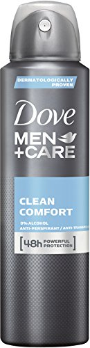 Dove Men+Care Deospray Clean Comfort  Anti-Transpirant, 3er Pack (3x 150 ml)