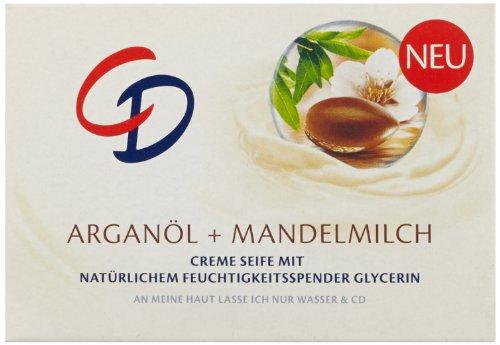 CD Creme Seife Argan�l & Mandelmilch 125g, 3er Pack (3 x 125 g)