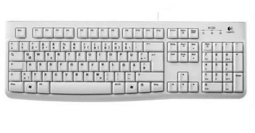 Logitech K120 Business Keyboard (QWERTZ, deutsches Layout) wei�