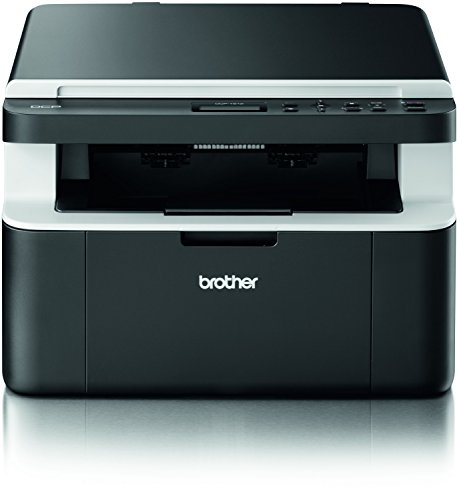 Brother DCP-1512 Kompaktes 3-in-1 Laser-Multifunktionsger�t (Scanner, Kopierer, Drucker) schwarz