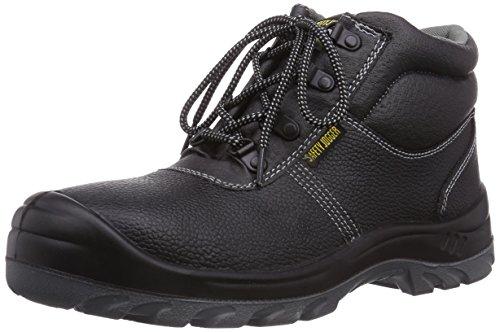 Safety Jogger BESTBOY, Unisex - Erwachsene Arbeits & Sicherheitsschuhe S3, Schwarz (Black), 43 EU