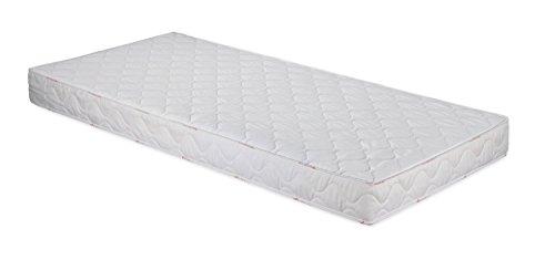 Badenia Bettcomfort 3887860159 Roll-Komfortmatratze, Trendline BT 100 H2 90 x 200 cm, wei�