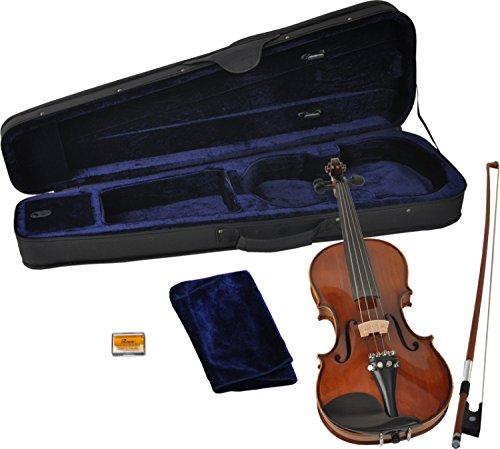 Steinbach 4/4 Geige im SET Ebenholzgarnitur