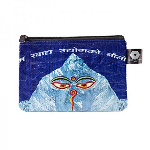 Shakti Milan Buddhas Eyes Kabeltasche Upcycled Tasche recycled Reissack Medikamente Angeln N�hen Accessory