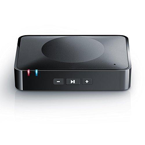 "CSL - Bluetooth HiFi Adapter Receiver / Audio Surround Empf�nger inkl. NFC sowie Mikrofon   schnurloser Musikadapter / Bluetooth-Empf�nger f�r Audioger�te   Bluetooth V3.0 (A2DP + AVRCP)   Eingebautes Mikrofon (""Hands free"")"