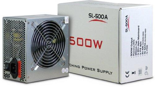 SL-500 Netzteil ATX Super Silent 120mm L�fter 19 - 24db