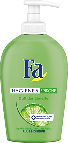 Fa Hygiene & Frische Fl�ssigseife, Limette, 6er Pack (6 x 250 ml)