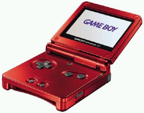 Game Boy Advance SP - Konsole, Flame Red