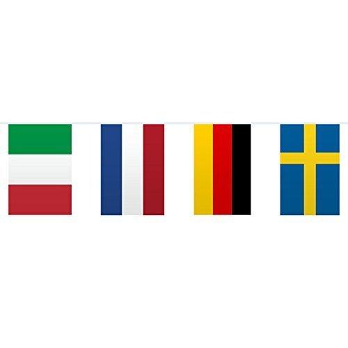 "Flaggen-Girlande ""Internationale L�nder"" 10 m"