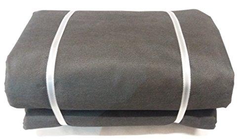 48m� Doubleyou Geovlies & Baustoffe� rei�festes Unkrautvlies + 50 Erdanker Gartenvlies Unkrautschutzvlies mit hoher UV-Stabilisierung 30m x 1,6m, St�rke: 50g/m�