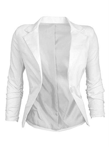 Eleganter Damen Blazer J�ckchen Business Freizeit Party Jacke in mehreren Farben