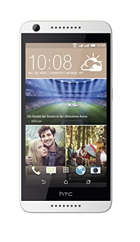 HTC Desire 626G Smartphone (12,7 cm (5 Zoll) Display, 8GB interner Speicher, Android 4.4 OS) Birch Weiss