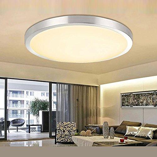 LED Deckenlampe Deckenleuchte Badlampe Wandlampe Lampe Leuchte Warmweiss 12W/18W IP44 (18 Watt)