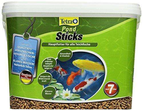 Tetra Pond Sticks (Hauptfutter f�r alle Gartenteichfische in Form von schwimmf�higen Sticks), 7 Liter Eimer