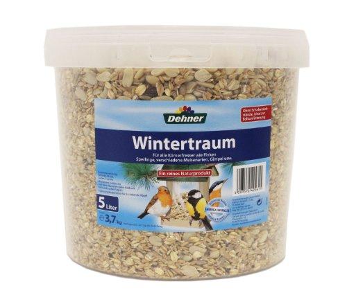 Dehner Wildvogelfutter, Wintertraum, im Eimer, 5 l (3.7 kg)
