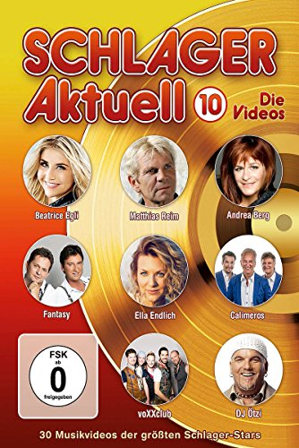 Various Artists - Schlager aktuell 10: Die Videos