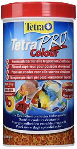 Tetra Pro Colour Premiumfutter (f�r alle tropischen Zierfische, Farbkonzentrat f�r hervorragende nat�rliche Farbauspr�gung, Vitaminstabilit�t, hoher Gehalt an Carotinoiden), 500 ml Dose