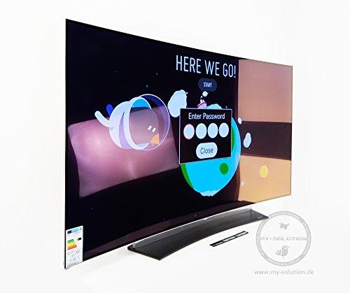 LG OLED55C6D (hier EU-Modell OLED 55C6V) Curved OLED 4K HDR 3D TV 139cm HD Triple Tuner