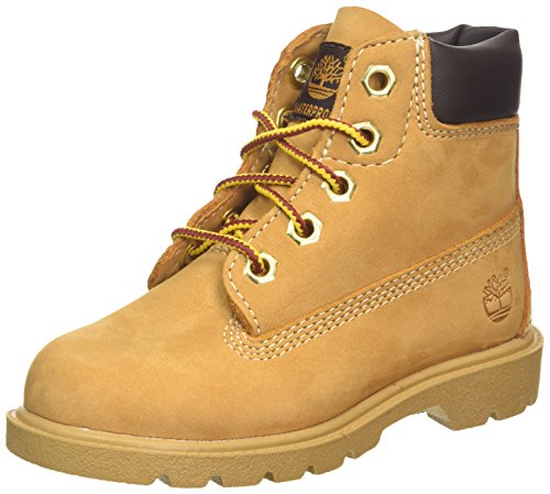 Timberland 6 In Classic Boot FTC_6 In Classic Boot, Unisex-Kinder Halbschaft Stiefel, Braun (YELLOW), 40 EU