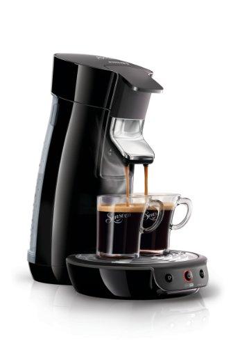 Senseo HD7825/60 Viva Caf� Kaffeepadmaschine (1 - 2 Tassen gleichzeitig) schwarz